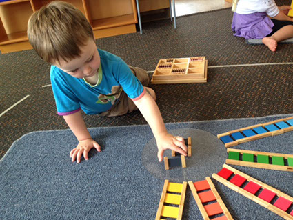 Our Montessori Programme - Sensorial