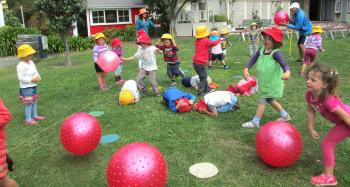 Bays Montessori Outdoor Activities Games